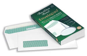 White DL Envelopes with Window